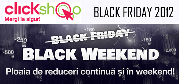 Black Friday 2012 ClickShop