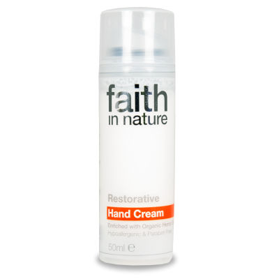 Cremă hidratantă de maini cu extract de ulei de cânepă Faith in Nature 50 ml - Black Friday 2016 Clickshop