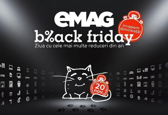 data Black Friday eMAG