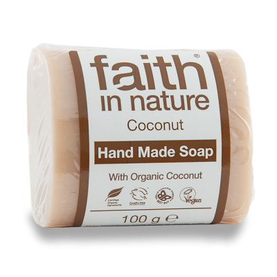 Sapun natural cu extract de cocos Faith in Nature 100g - Black Friday 2016 Clickshop